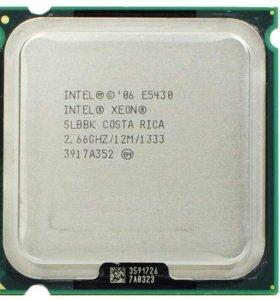 Intel Xeon Quad Duo LGA775