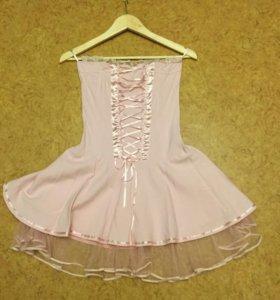 Нарядное коктельное платье