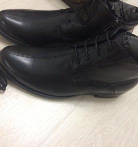 Новые зимние мужские ботинки Chester