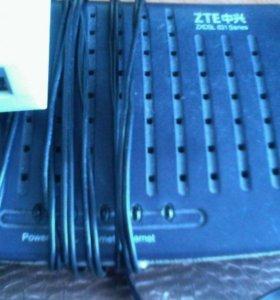 ADSL модем ZTE ZXDSL-831