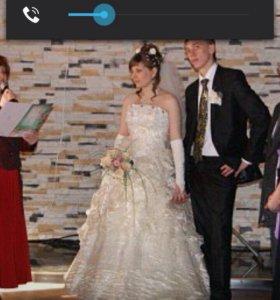Платье свадебное можно