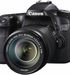 Фотоаппарат Canon-70D