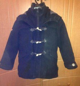 Пальто на мальчика 4 - 7 лет