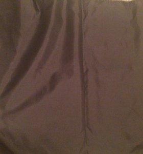 Метр чёрной подкладочной ткани