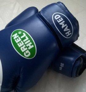 Боксёрские перчатки Green Hill 10oz