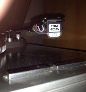 Виниловый проигрыватель электроника эп 017