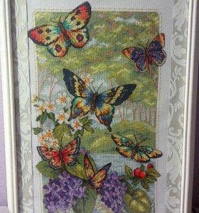Картина Лес бабочек