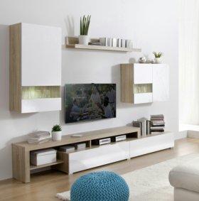 Новая мебельная стенка.