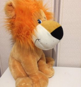 Мягкая игрушка лев, обезьянка