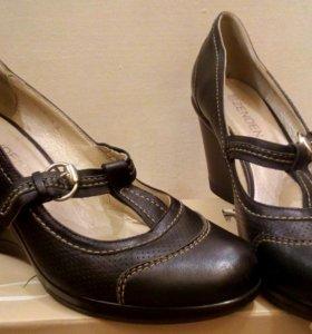 Туфли кожаные Zenden
