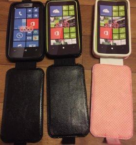 Nokia lumia 620 новый чехол
