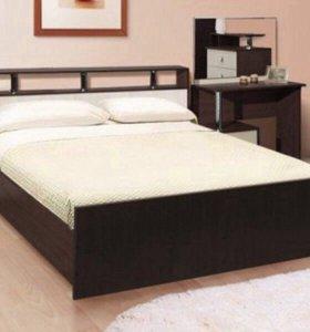 Кровать Соломея 1,6 м + матрас.