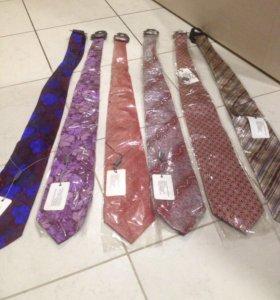Новые галстуки шелк