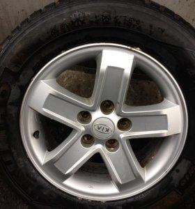 Диски Kia Sportage R 16 6.5х16 ЕТ41    5х114.3