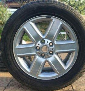 Комплект колес на Range Rover 255/55/R19 Michelin