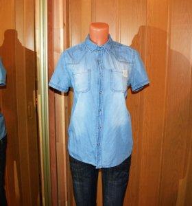 Джинсовая рубашка Reserved