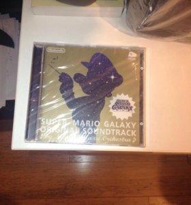 Super Mario galaxy original soundtrack.