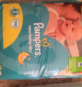 Памперс new baby-dry