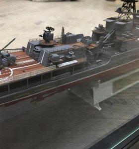 """Модель корабля """"Адмирал Чабаненко"""""""