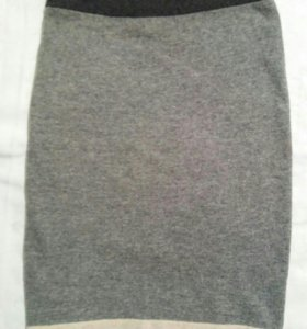 Шерстяная юбка Wallis
