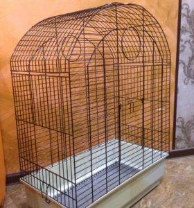 Клетка для большого и среднего попугая
