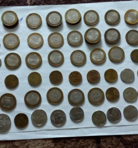 Монеты юбилейные 2 руб, 5 руб, 10 руб 25 руб