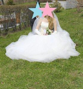 Свадебное платье плюс подарки
