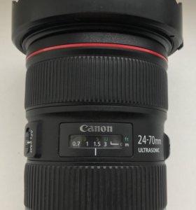 Объектив Canon 24-70 f2.8L II