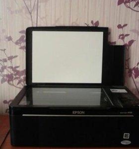 Принтер,сканер,копир EPSON STYLUS SX 125