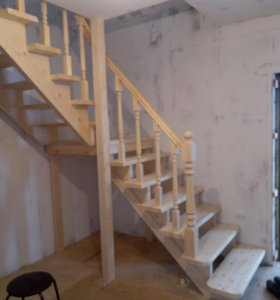 Бюджетные деревянные лестницы