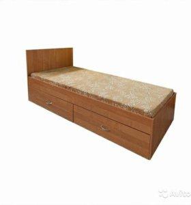 Кровать односпальная 80х190