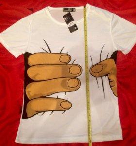 Новая футболка 164