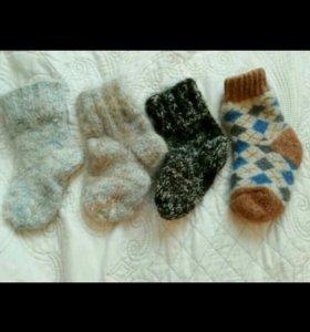 Шерстяные носки детские