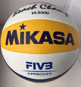 Мяч Mikasa VLS300 для пляжного волейбола