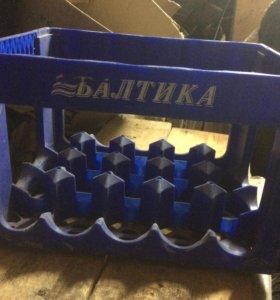 Ящики для бутылок Балтика
