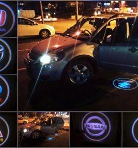 Подсветка для дверей в авто