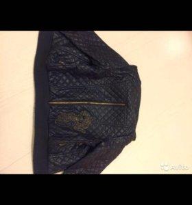 Куртка кожаная брендированая