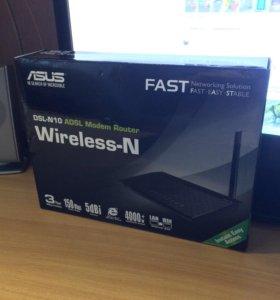 Продам маршрутизатор ADSL2+ ASUS DSL-N10