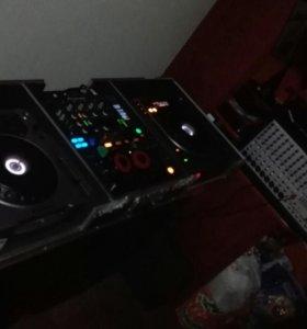 CDJ 800 & DJM 800 +Кофр