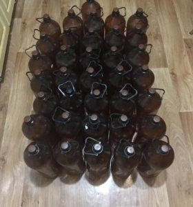 Трёхлитровые бутылки