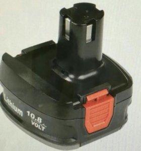 Аккумулятор на шуруповерт Stomer SA-10.8 - 1.5Li