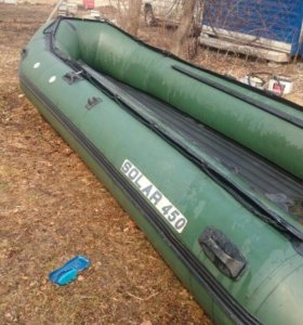 Надувная лодка с надувным дном