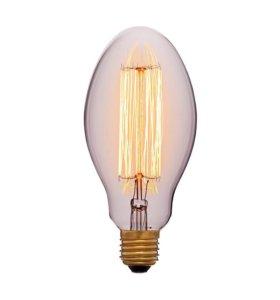 Ретро лампа эллипсоидной формы E75