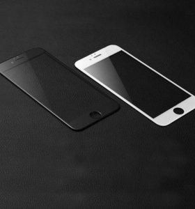 3D Защитные стекла на все iPhone 6/6s/7/Plus