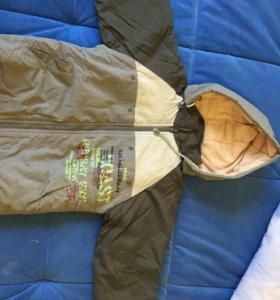Куртка демисезонная 4-5 лет