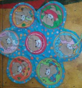 300р- 2 Детских коврика с дугами.