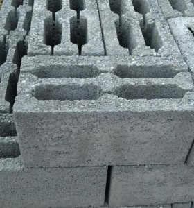 Блок керамзитобетонный 40*20*20