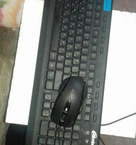 Клавиатура и игровая мышь