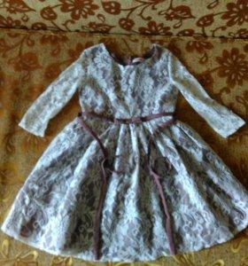 Платье для девочки 10 лет.