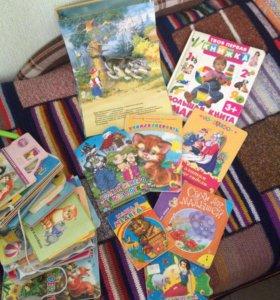 Игрушки, пазлы, книжки